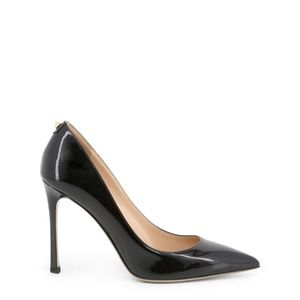 Valentino Black Patent Leather Pointed Toe Pumps